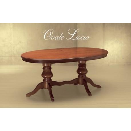 Jídelní stůl Ovale Liscio