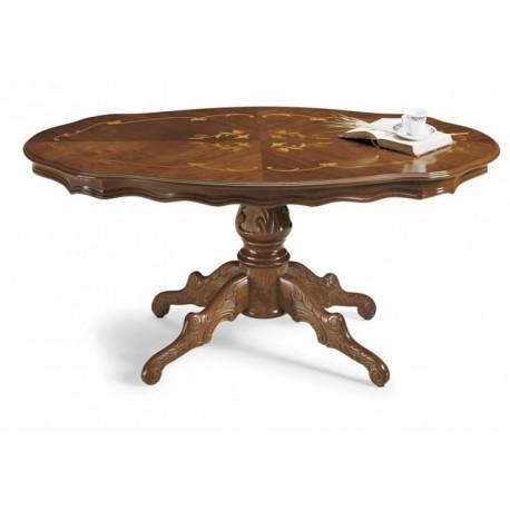 Konferenční stůl s intarsií