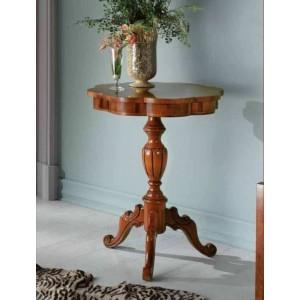 Kavárenský stůl s intarsií