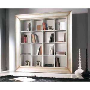 Knihovna s rámem