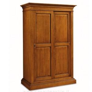 Dvoudveřová šatní skříň