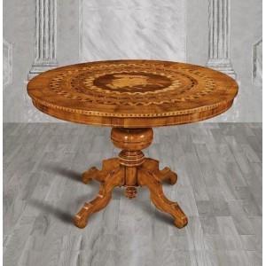 Jídelní stůl s intarzií