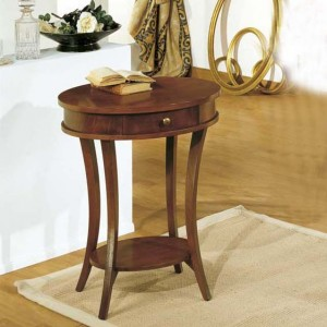 Odkládací stolek se šuplíkem