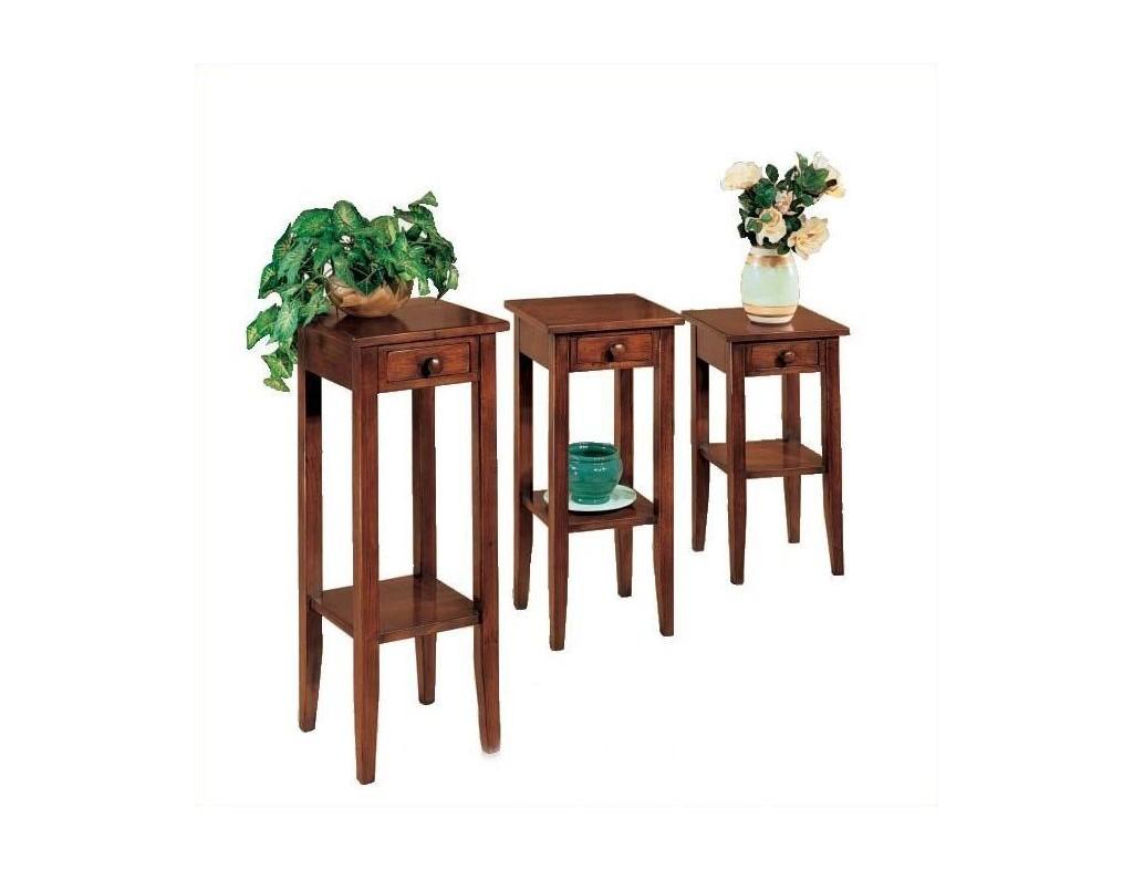 Květinový stolek se šuplíkem