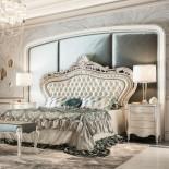 Exklusivní italská postel s čalouněním