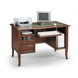 Psací stůl s koženou deskou