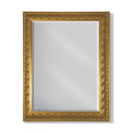 Zlaté zdobené zrcadlo FR 9-2003/4-B-A