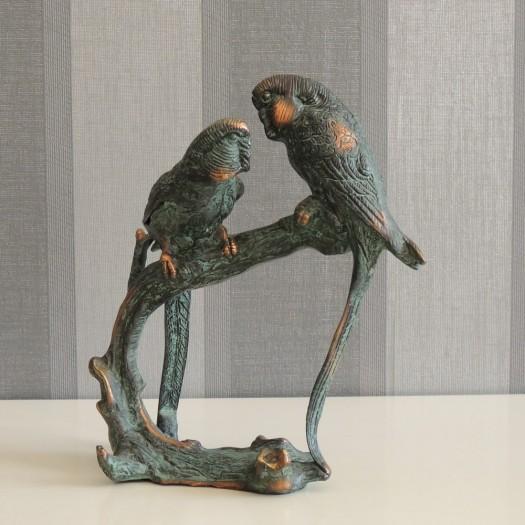 Soška papoušci