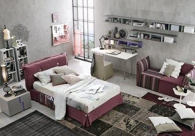 Pokoj pro mladé růžový